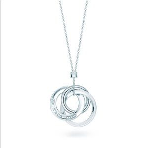 Tiffany & Co. Silver Triple Interlocking Circles